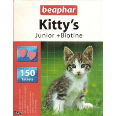 Витамины Beaphar Kitty's Junior Biotine 150 штук