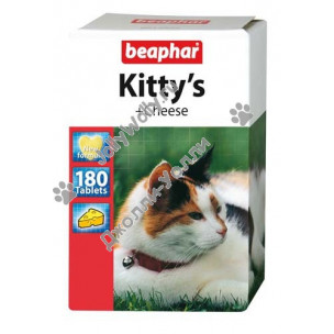 Витамины Beaphar Kitty's+Cheese 180 штук