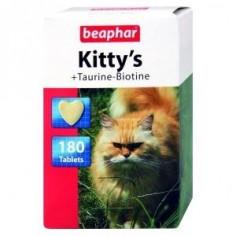 Витамины Beaphar Kitty's +Taurin+Biotin 180 штук