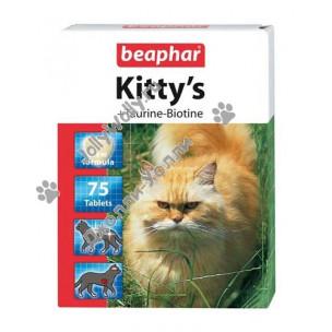 Витамины Beaphar Kitty's +Taurin+Biotin 75 штук