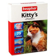Витамины Beaphar Kitty's+Protein 75 штук