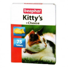 Витамины Beaphar Kitty's+Cheese 75 штук