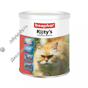 Витамины Beaphar Kitty's +Taurin+Biotin 750 штук