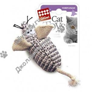 Игрушка GIGwi Мышка с погремушкой