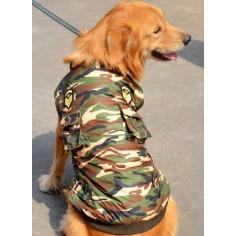 Куртка-жилет камуфляжная