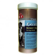 Витамины 8 in 1 Excel Brewer`s для крупных собак 80 штук