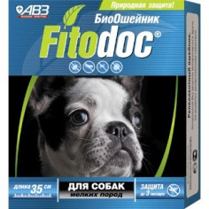 БиоОшейник Fitodoc от блох и клещей для мелких собак