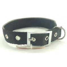 Ошейник Collar Dog Extreme двухслойный со светоотражающими кантами Black Small