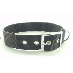 Ошейник Collar Dog Extreme двухслойный со светоотражающими кантами Black Extra Large