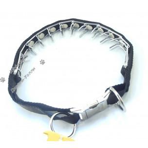 Ошейник Collar строгий с металлическим фастексом 38-50 см
