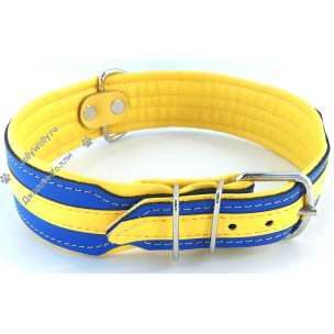 Ошейник Zooleszcz Colors Yellow-blue 53-60 см