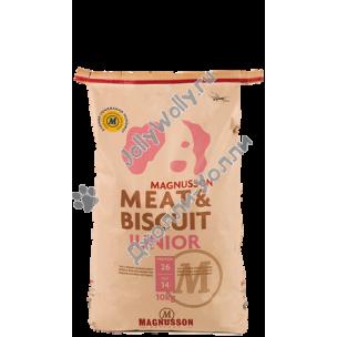 Корм Magnusson Junior (Meat&Biscuit) для щенков, беременных и кормящих сук