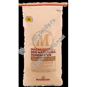Корм Magnusson Naturliga (Original) для сильных аллергиков и чувствительных к питанию собак