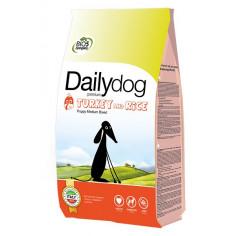 Корм DailyDog Puppy Medium Breed (turkey and rice) для щенков средних пород с индейкой и рисом