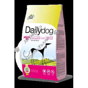 Корм Dailydog Adult Mini Breed для собак миниатюрных пород с бараниной и рисом