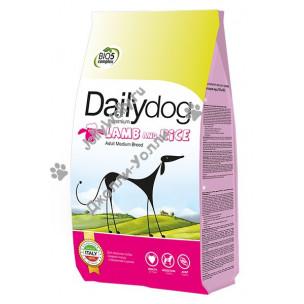 Корм DailyDog Adult Medium Breed (lamb and rice) для взрослых собак средних пород с бараниной и рисом