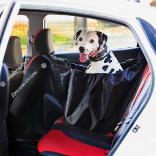 Автогамак для перевозки собак Bruno КОМПАКТ на 1/3 заднего сидения