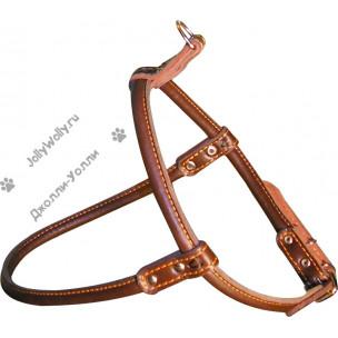 Шлейка Collar Soft 1 круглая для длинношерстных собак 62-70 см