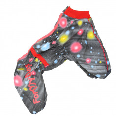 Умный комбинезон ForMyDogs зимний из мембранной ткани для девочки
