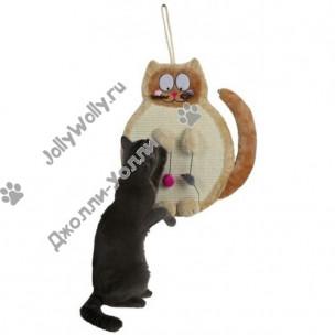 Когтеточка Trixie кошка с игрушками