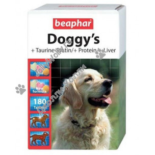 Витамины Beaphar Doggy's Taurine-Biotin, Protein, Liver