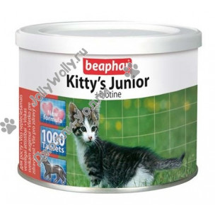 Витамины Beaphar Kitty's Junior Biotine