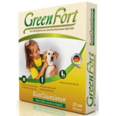 Биоошейник GreenFort репеллентный для мелких собак